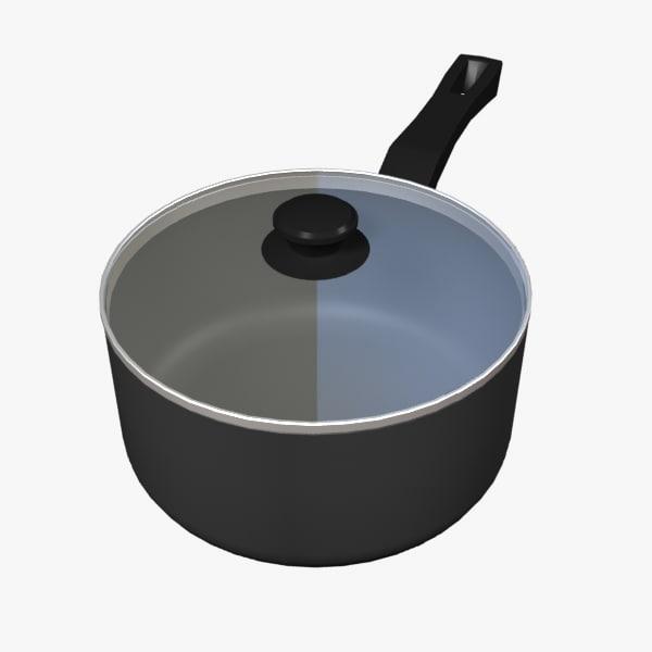 3d model saucepan