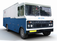 3d truck 2 model