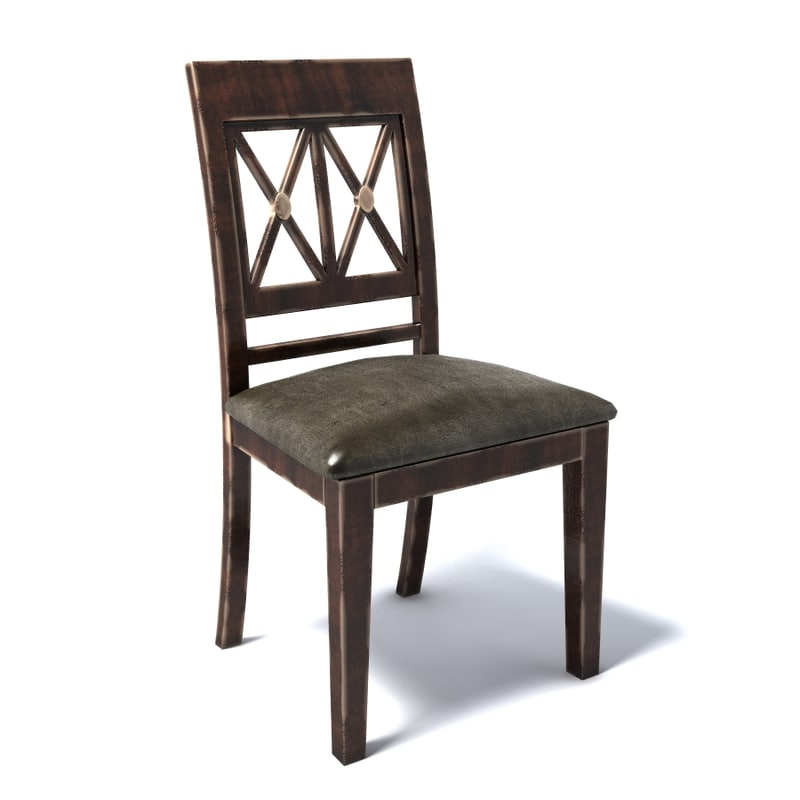3d photoreal chair