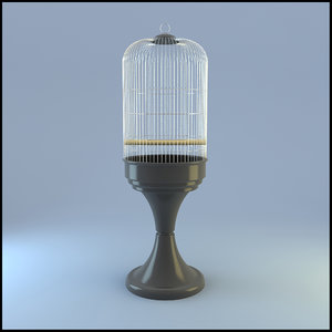 bird cage c4d
