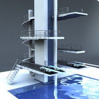 Olympic Diving Board