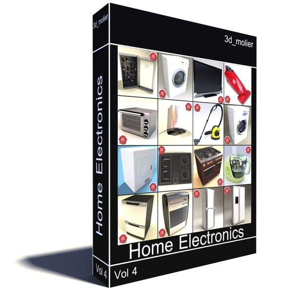 3ds max home electronics v4