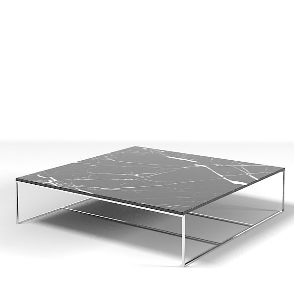 Minotti calder table 3d max for Minotti coffee table