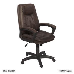 office chair 3d obj
