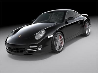 3ds max 2010 porsche 911 turbo