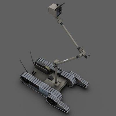 irobot packbot 510 eod 3ds