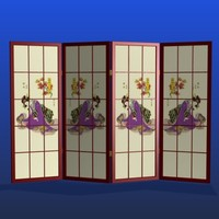 FR Japanese Lady Room Divider