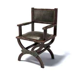 3d model photoreal chair