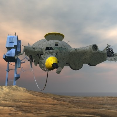 dxf spacewreck space