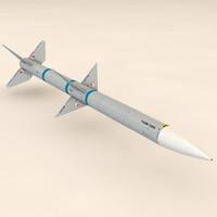 Extreme Detail AIM-120 AMRAAM Missile