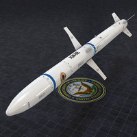 Extreme Detail AGM-88E HARM Missile