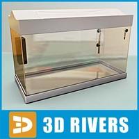 Empty glass aquarium by 3DRivers