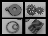 gear tool 3d model