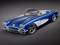 Chevrolet Corvette C1 custom