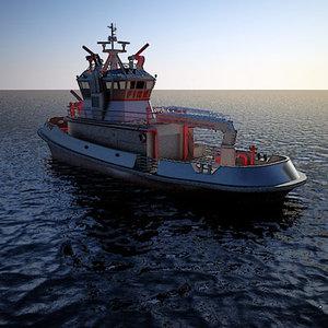 maya boat fireboat