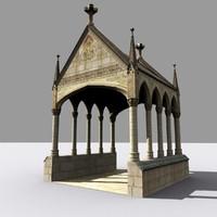 Medieval Gothic Lychgate