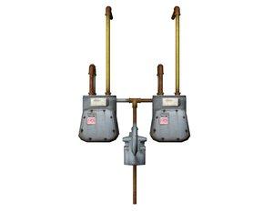 hydro meter obj
