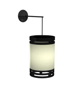 3d model wall lantern light