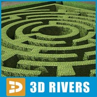 Garden maze by 3DRivers