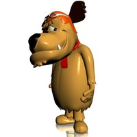muttley rigged 3ds