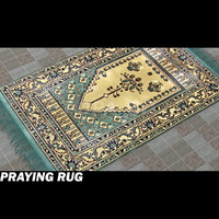 3d model islamic pray carpet