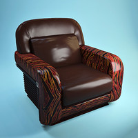 3ds max florence collections armchair