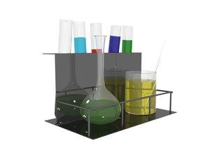 3d small chemistry set