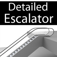 Detailed Escalator
