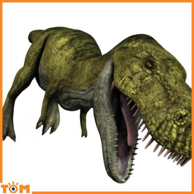 blender dinosaur realistic