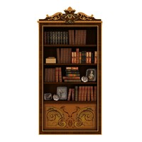 citterio - bookcase 3d max