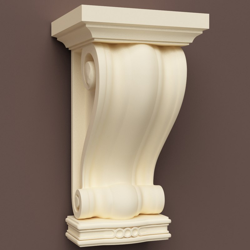 classical ornamental 3d model