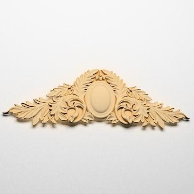 3d cartouches decoration model