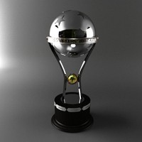 trophy sudamericana 3d model