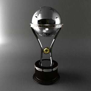 trophy sudamericana 3d model