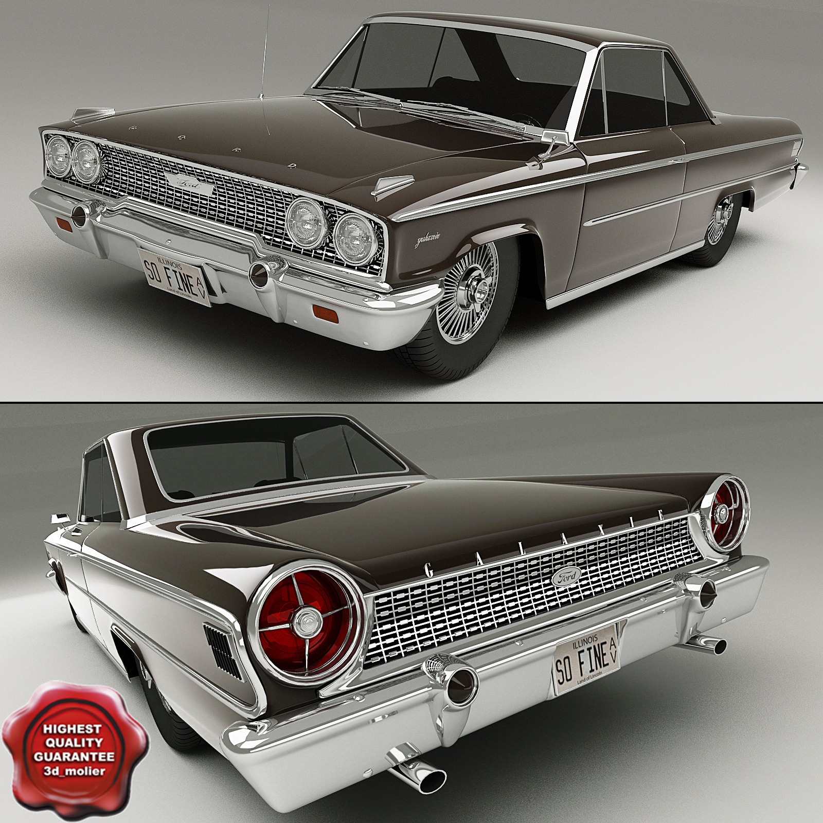 3ds max galaxie 1963