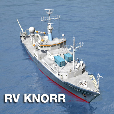 3d model rv knorr vessel