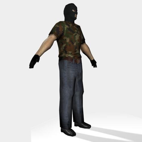3d model skins criminal