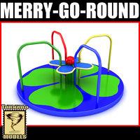 merry-go-round x 3ds