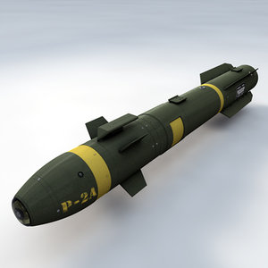 extremely agm-114 hellfire missile 3ds