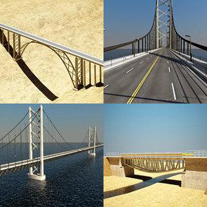 3d bridges road