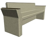Stone Bench 01