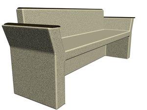 free max model stone bench