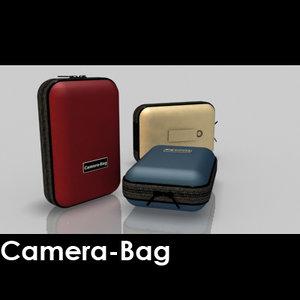 standard camera bag 3d obj
