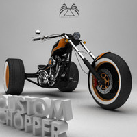 maya custom chopper