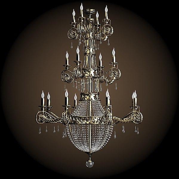 Chandelier Crystal Luxury Max