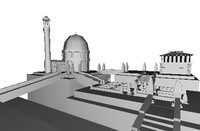 3d fantasy city