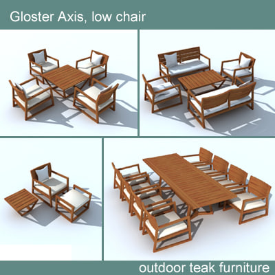 Gloster Axis Outdoor Furniture