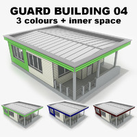 3ds max guard building 04