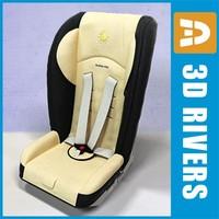 infant car seat 3d model
