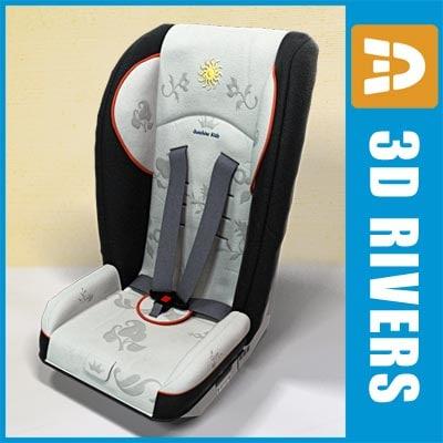 3d max baby car seat